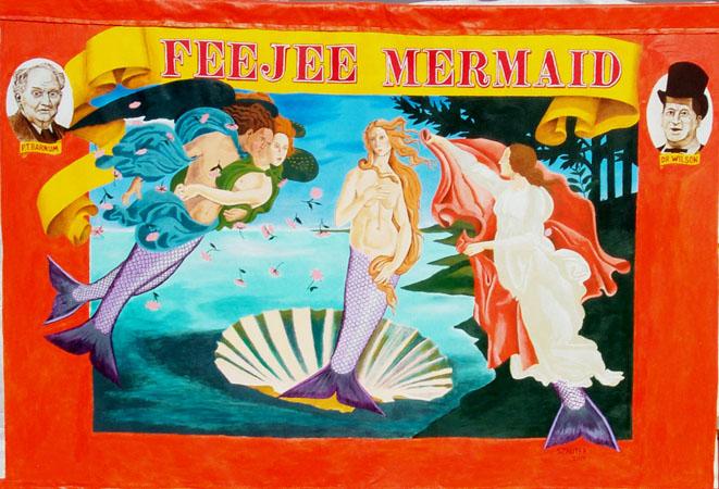 Dr Wilson S Incredible Sideshow Feejee Mermaid